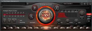 AKAI MPD218 sonivox big bang cinematic percussion