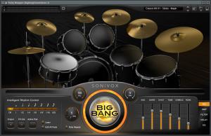 AKAI MPD218 sonivox big bang universal drums