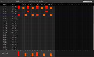 AKAI MPD232 Sequence Editor
