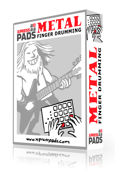 XpressPads Metal Finger Drumming Expansion