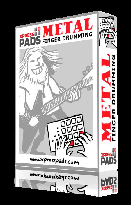 XpressPads Metal Finger Drumming Expansion