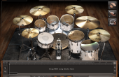 EZdrummer 2 - main interface view