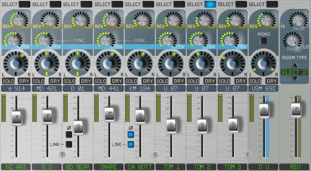 Sennheiser DrumMic'a! - Mixer Selection