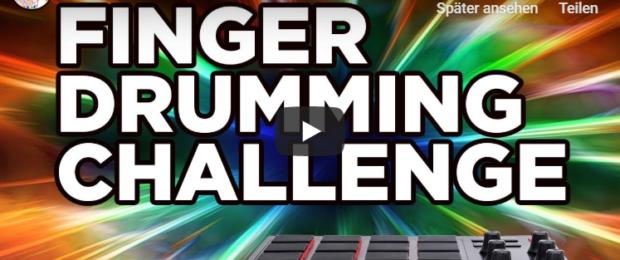 finger drumming challenge