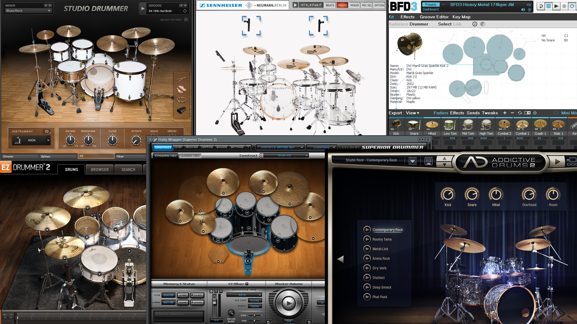 We help you find the best virtual drum set for finger drumming