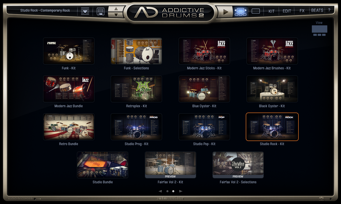 Addictive Drums 2 - AdPak Galery View