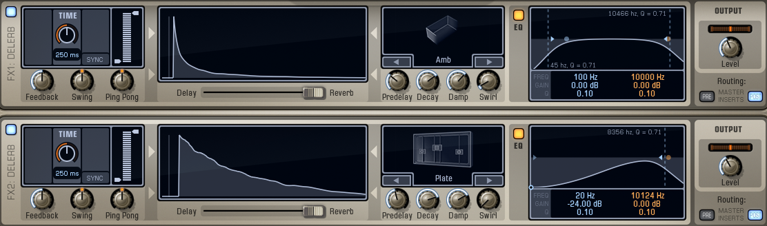 Addictive Drums 2 - Send Effects Section