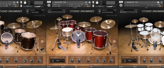 NI Studio Drummer - All 3 Virtual Drum Kits