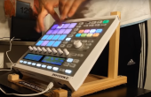 Pawel drum and bass finger drumming on Maschine