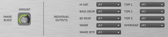 Sennheiser DrumMic'a! - Snare Bleed & Channel Output Selection