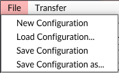 iRig Pads Editor File Menu